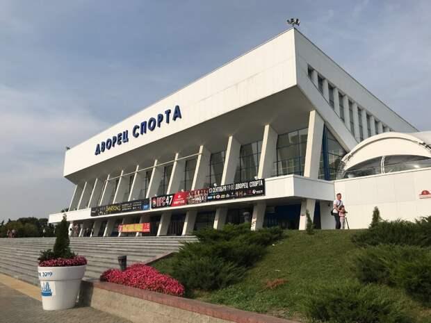 Дворец спорта –советское наследие в белорусской столице.