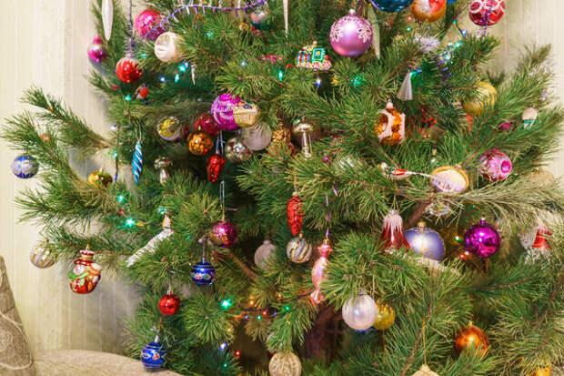 Ностальгическая елка