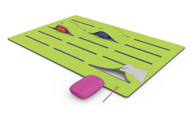 Интерактивный ковер Gap Carpet