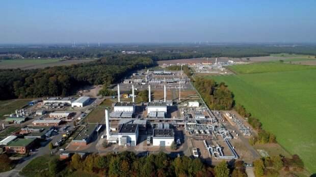 """""""Газпром"""" прогнозирует интенсивный режим закачки газа в Европу летом"""