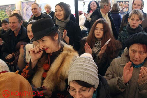 Гости выставки «Девичник»