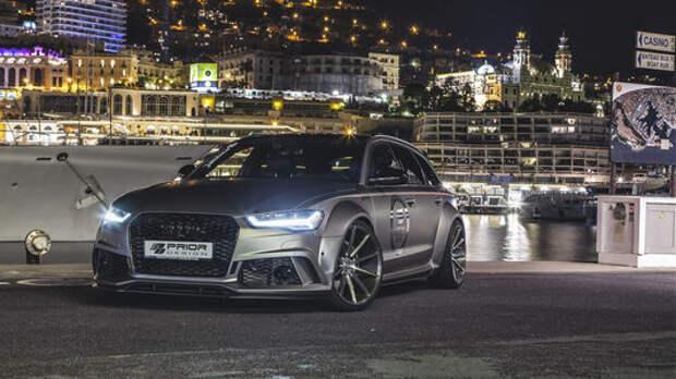 Audi RS 6 перешел в разряд супергероев