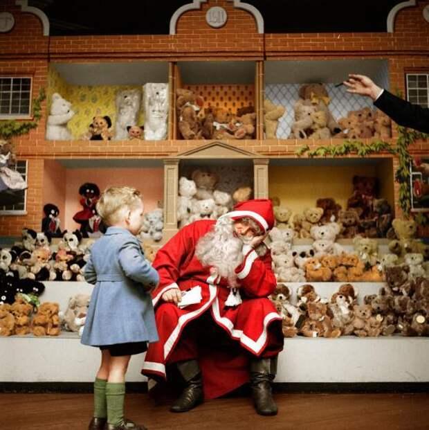 Винтажные фотографии, пропитанные духом Рождества