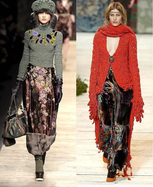 Вязаная мода: реальность и фантазии