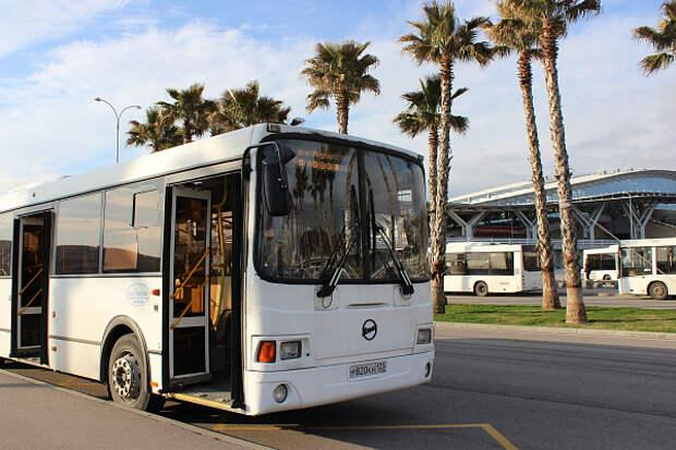 В Сочи во время «Формулы 1» увеличат число автобусов
