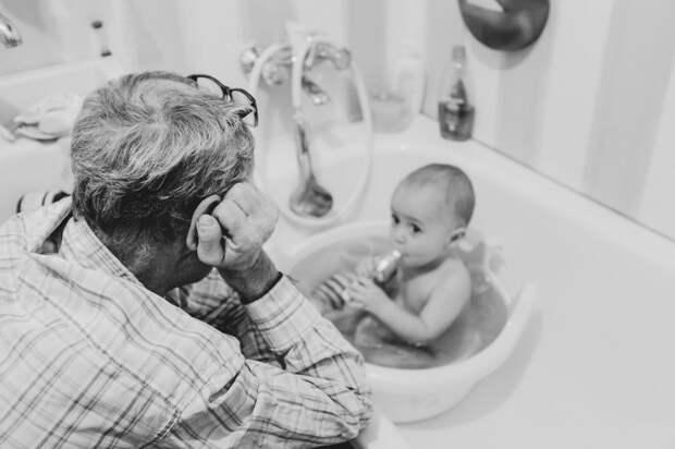 """Трогательный фотопроект """"Лучший в мире дедушка"""""""