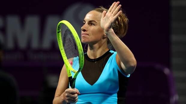 Кузнецова вышла во 2-й круг Australian Open, где сыграет с Бенчич