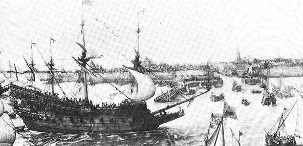 Английский корабль Prince Royal, построенный по мотивам Tre Kroner - Датский флот нового времени: типы кораблей | Warspot.ru