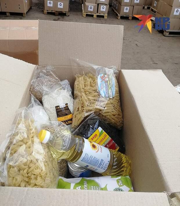 ФМР к закупке продовольствия подошли грамотнее, чем их коллеги: в наборах только продукты длительного хранения Фото: Владимир ПЕРЕКРЕСТ