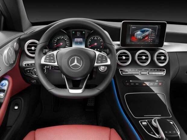 Mercedes-Benz представил новое купе C-класса