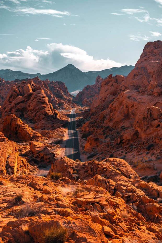 Долина Огня в Неваде