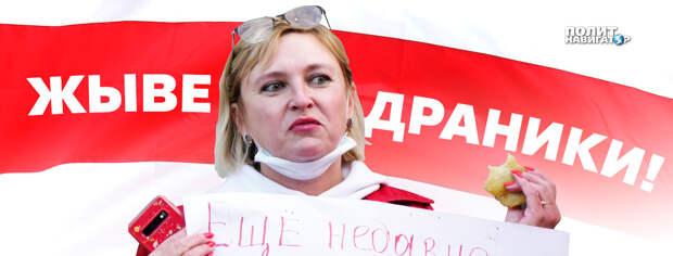 Плагиат с Майдана уже в Москве: Вместо печенек раздают «белорусские драники»