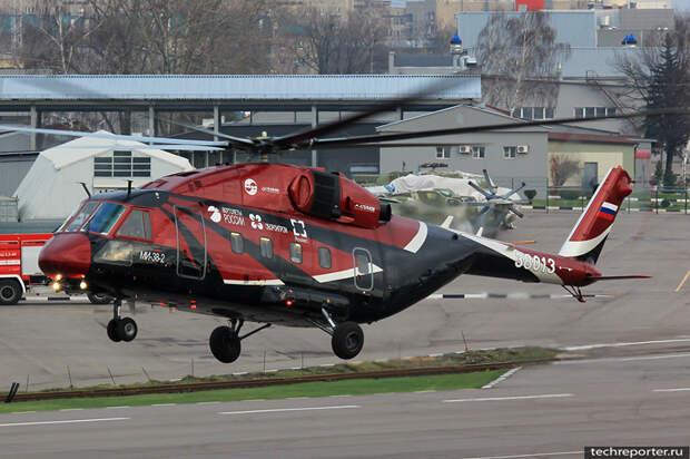 Ми-38 с российскими двигателями совершил первый полет
