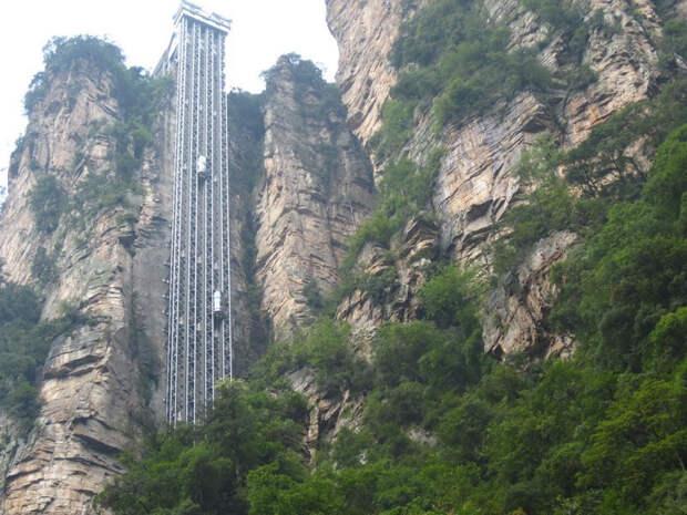 Безумные лифты, которые вызовут боязнь высоты у кого угодно