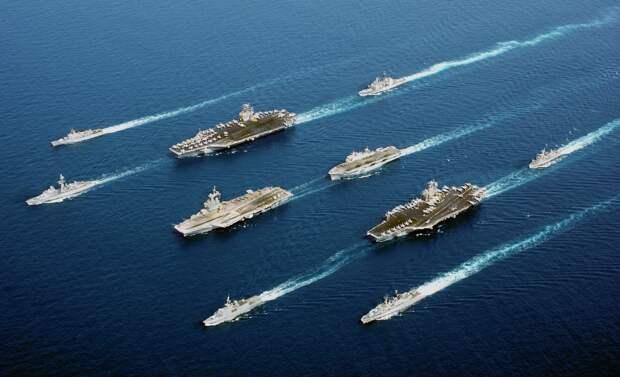 ВМС США собираются установить глобальный контроль над Мировым океаном