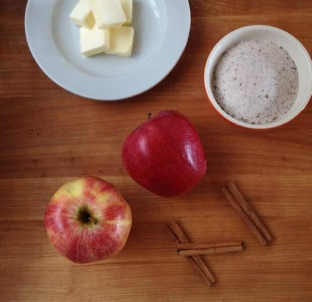 яблоки фри