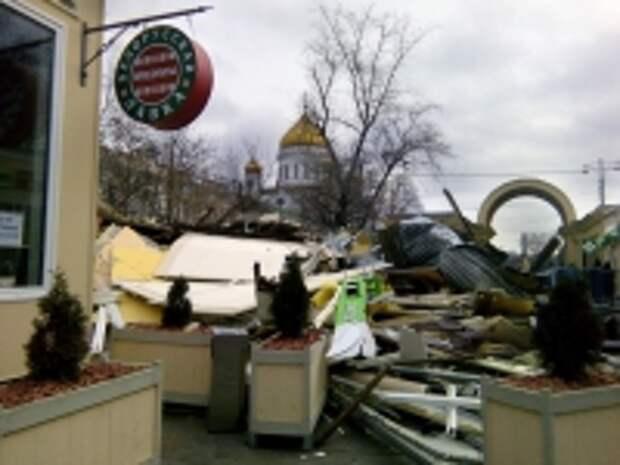 ПРАВО.RU: ФАС участвует в рассмотрении десятков дел о сносе павильонов в Москве