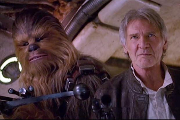 Во втором тизере «Звездных войн» показали Хана Соло и Чубакку