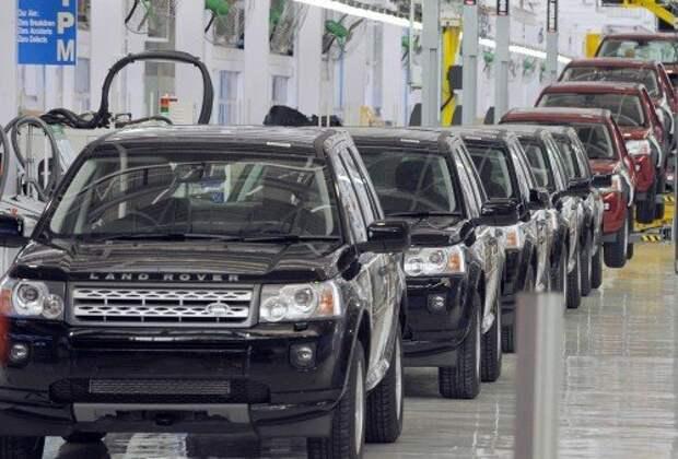 Сборка внедорожников Land Rover