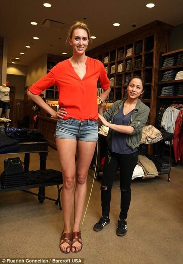 Самая длинноногая женщина