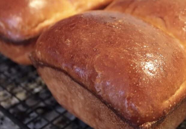 Делаем молочный хлеб за 5 минут в день