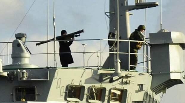 Снимок ПЗРК на корабле «Цезарь Куников» признали фотомонтажом