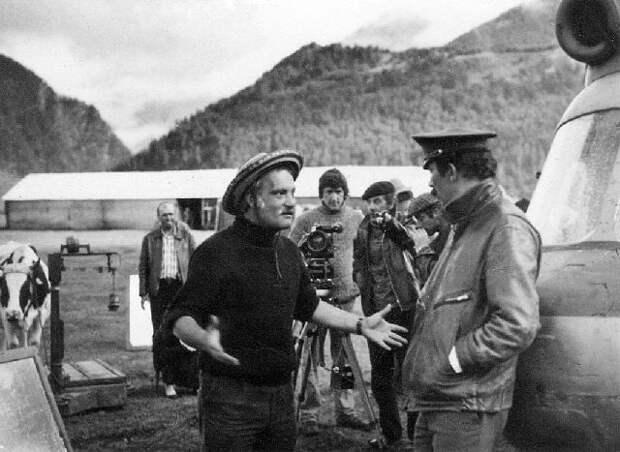 Фотографии со съёмок фильма «Мимино».