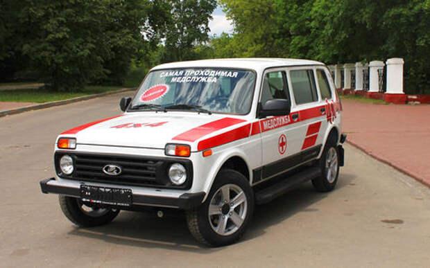 Lada 4x4 превращается в «скорую»: вот как она будет выглядеть