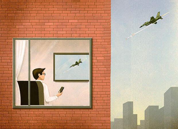 Правда современной жизни в работах итальянского иллюстратора