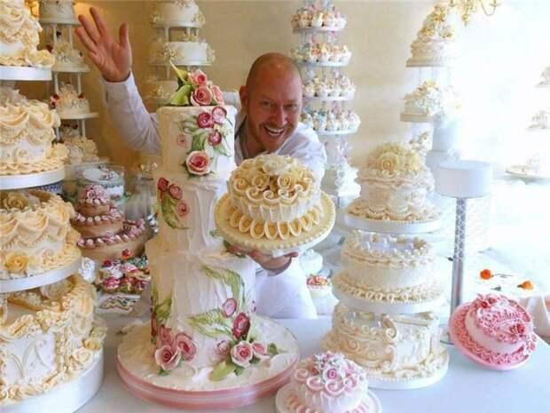 David Cakes в мире своих творений еда, торт