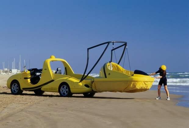 2. Rinspeed X-Trem автомобили, концепт-кары, странности