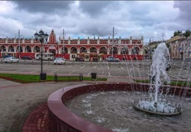 В Калуге начали открывать первые фонтаны