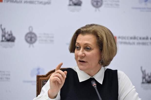 Попова: Россия вышла на определенное плато по заболеваемости COVID-19
