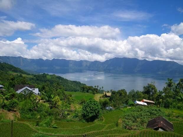 27. Озеро Манинджау, Западная Суматра, Индонезия в мире, озеро, природа