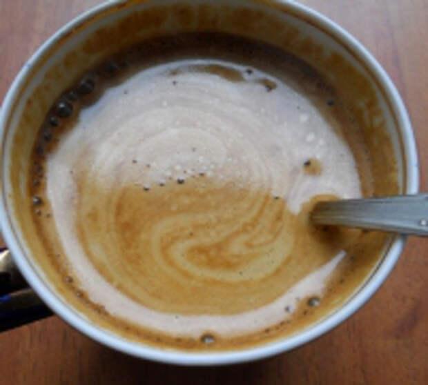 Черничный кофе