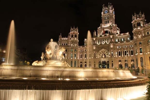 Plaza De Cibeles - Мадрид