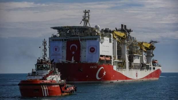 Турция нашла в Черном море новое газовое месторождение с запасами в 405 млрд куб.м.