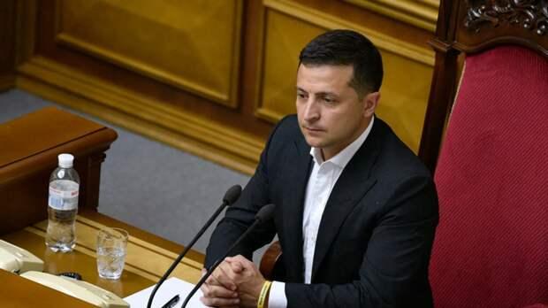 Зеленский попросил Верховную раду переподчинить ему Нацгвардию