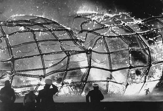 4 факта о гибели дирижабля «Гинденбург», после которой люди прекратили использовать этот вид транспорта