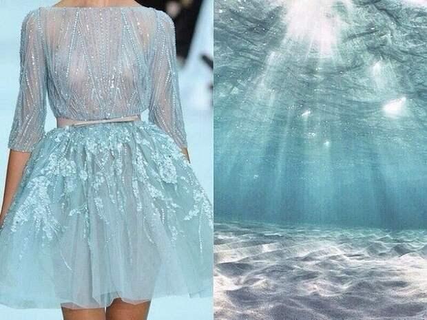 """Проект """"Fashion & Nature"""" Сходство в моделях одежды - и красотах природы..."""