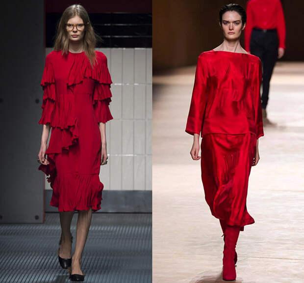 Слева — Gucci, справа — Hermès
