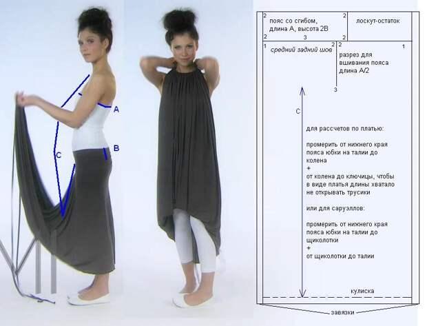 платье трансформер Emami выкройка