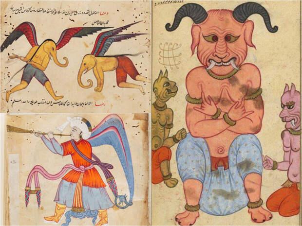 Искусство исламского мира. Аджа'иб ал-махлукат («Чудеса Сотворенного»).
