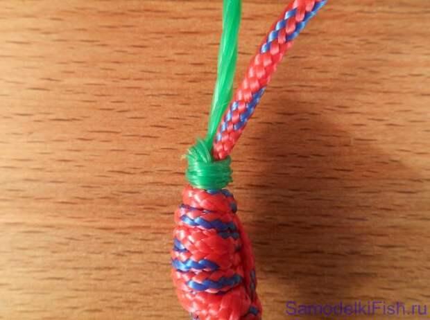 Дополнительный узел для оснащения зимней снасти