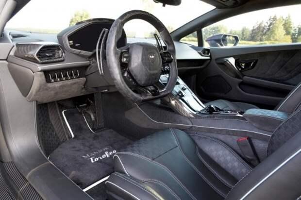 Запредельно мощный Lamborghini выходит на дороги