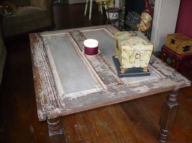 door-turned-coffee-table