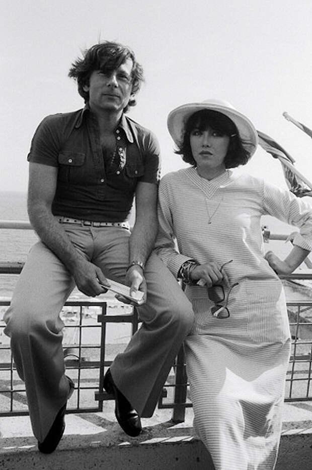 Роман Полански и Изабель Аджани (1976)