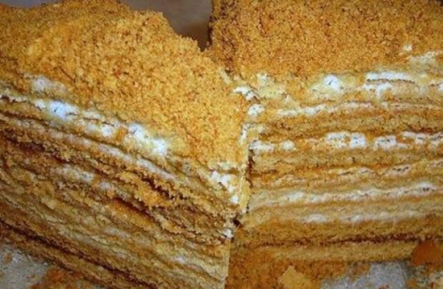 Пропитка для медового торта