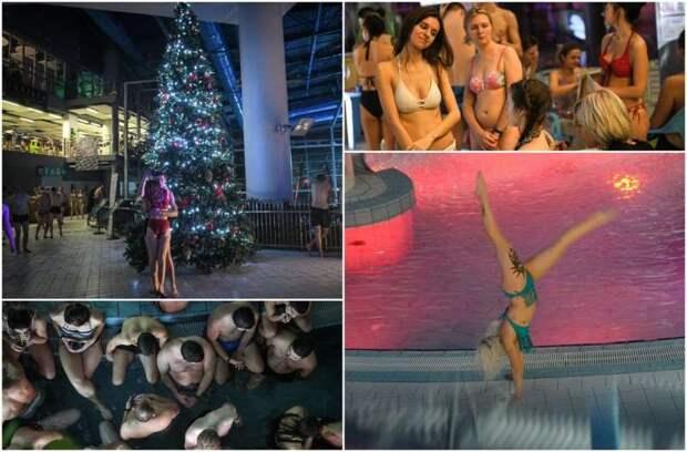«Зима в бикини»: вечеринка в аквапарке «Лебяжий»