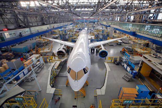 Авиапроизводители РФ не могут из-за санкций запада собрать самолет МС-21